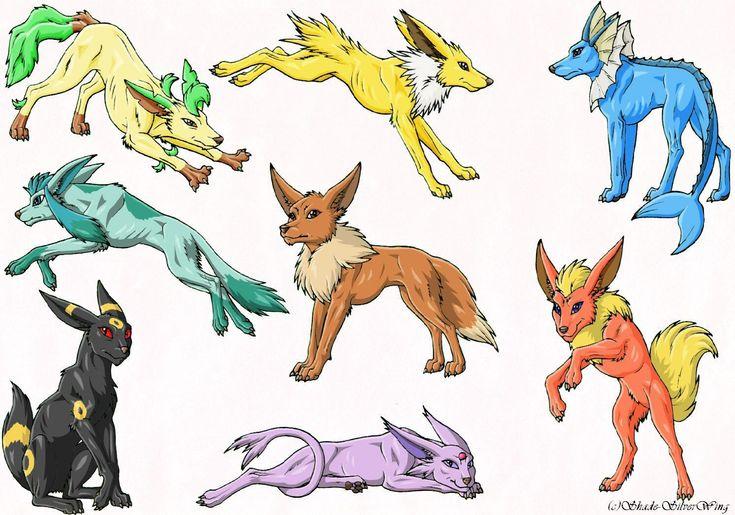 Real Like Eevee Evolutions Pokemon Photo Pokemon Eevee
