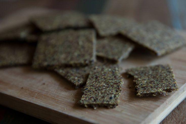 Pan crudo de lino. Gluten free. Vegan. Recetas veganas. Raw food. Saludable. Semillas.