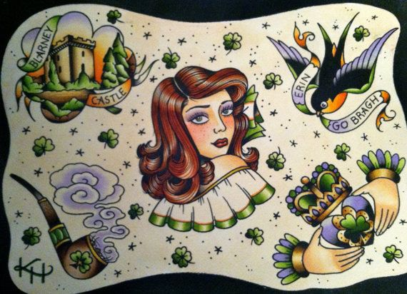 1000 images about irish sugar skull on pinterest tees for Irish canadian tattoos