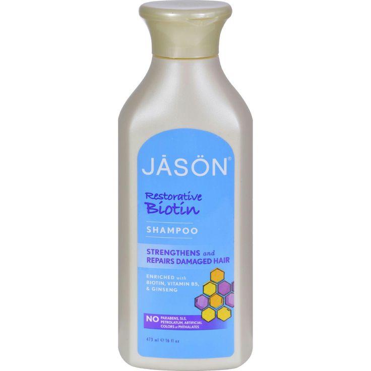 Jason Pure Natural Shampoo Restorative Biotin - 16 fl oz