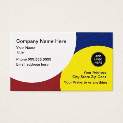 #Modern Trendy And Unique Business Card - #trendy #gifts #template