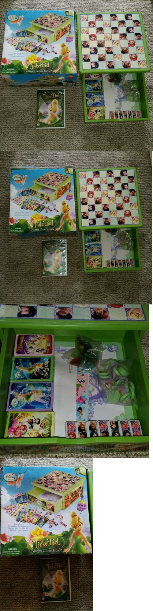 Tinker Bell Peter Pan 146041: Disney Fairies Tinkerbell Game House - 8 Games -Girl Play - W Dvd - New -> BUY IT NOW ONLY: $32.95 on eBay!