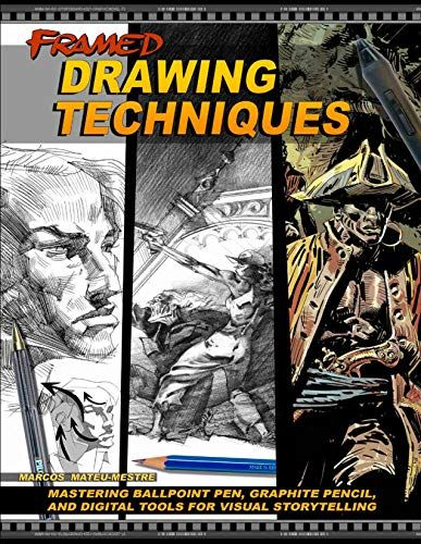 Download Pdf Framed Drawing Techniques Mastering Ballpoint Pen Graphite Pencil And Digital Tools For Visu Drawing Techniques Storytelling Graphite Pencils