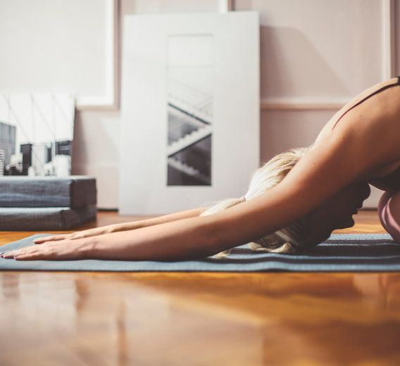 Stress builds up. Break it down with these three yoga sequences.