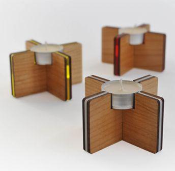 Klickity - Tilt Tea Light Holders