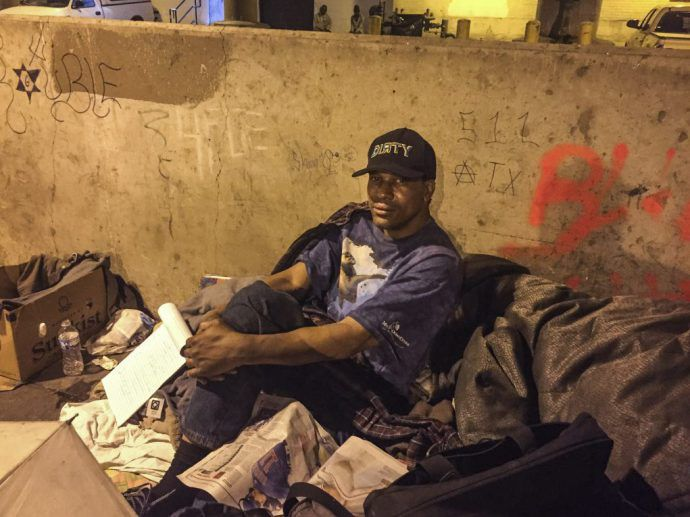 Residents Of A Homeless Encampment On Lower Wacker Drive Known As The Triangle Have Been Informed They Must Vacate The Site People Sleeping Chicago Prevention