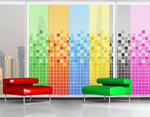 13 best ideas about pixel murals on pinterest photo. Black Bedroom Furniture Sets. Home Design Ideas