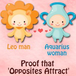 Aquarius woman and leo man marriage compatibility