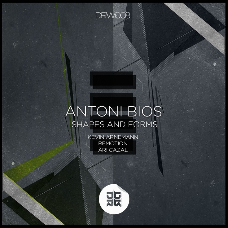 OUT ON 13.02.2013/Drowne Records  Antoni Bios - Shapes and Forms EP