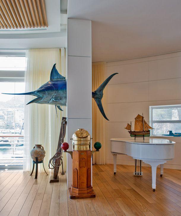 Яхт-клуб в Монако по проекту Нормана Фостера и Жака Гранжа