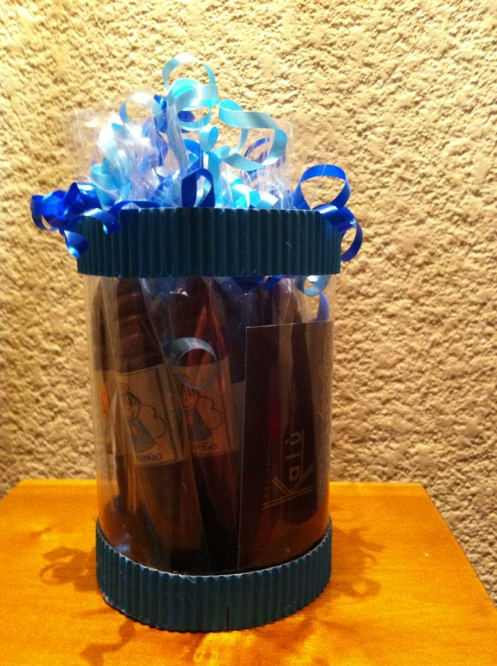 Puros de chocolate para el nacimiento de tu bebe