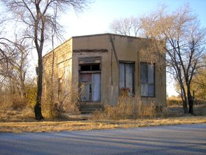 Western Ghost Towns Oklahoma
