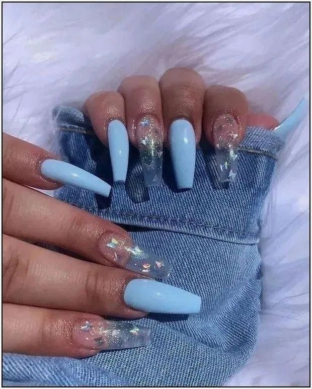 20 Awesome Acrylic Nails Under 10 Dollars In 2020 Coffin Nails Designs Nail Designs Nail Design Inspiration