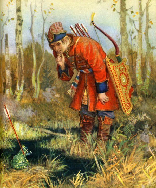 Nikolai Kochergin illustrator of Russian fairy tales