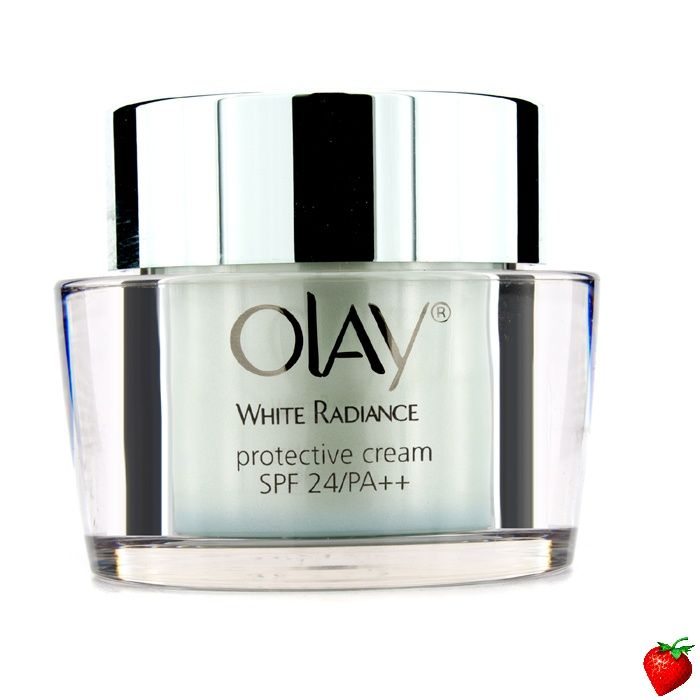 Olay White Radiance Protective Cream SPF24 PA++ (Unboxed) 50g/1.7oz #Skincare #Olay #SpecialPurchase #Beauty #Women #StrawberryNET #FREEShipping #Hotbuy #Discount