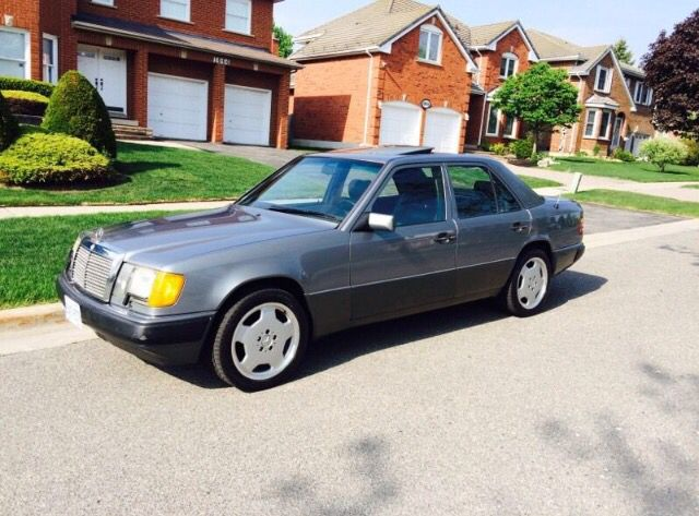 1991 Mercedes 300e // Mint Condition with AMG's