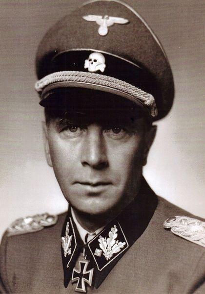 """✠ Wilhelm Bittrich (26 February 1894 – 19 April 1979) RK 14.12.1941 SS-Oberführer Kdr SS-Inf.Rgt """"Deutschland"""" 2. SS-Panzer-Division """"Das Reich"""" [563. EL] SS-Obergruppenführer und General der Waffen-SS K.G. II. SS-Pz.Korps  [153. Sw] SS-Obergruppenführer und General der Waffen-SS K.G. II. SS-Pz.Korps"""