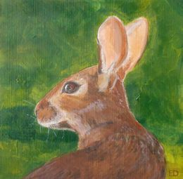 Hare by eleanoreditchburn at zippi.co.uk