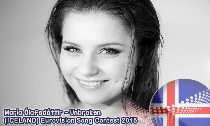 Maria Olafsdóttir - Unbroken (Iceland) Eurovision Song Contest 2015; She didn't reach the final an I missed that song