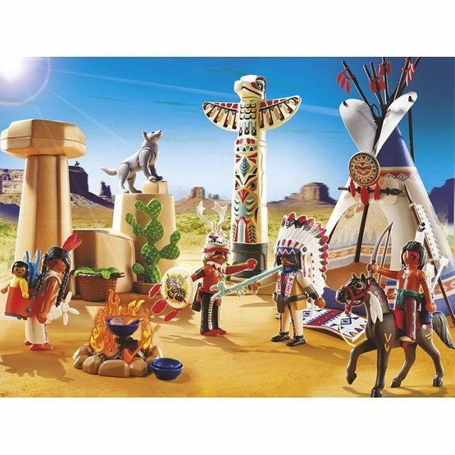 Playmobil - Camp des Indiens avec Tipi - PLA5247 - 37,90