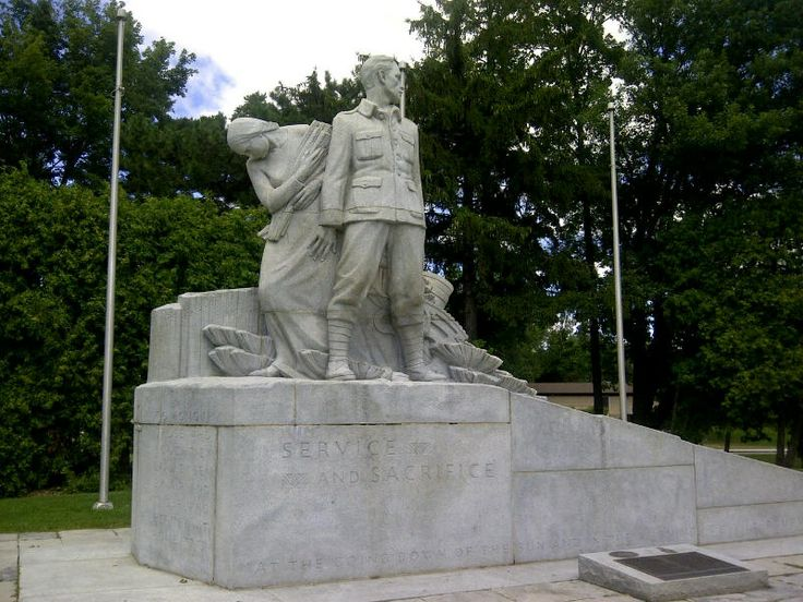 The Welland Cenotaph is one of few, if the only, one to include a woman and a reference to the home front. Sculpted by Elizabeth Wyn Wood in...