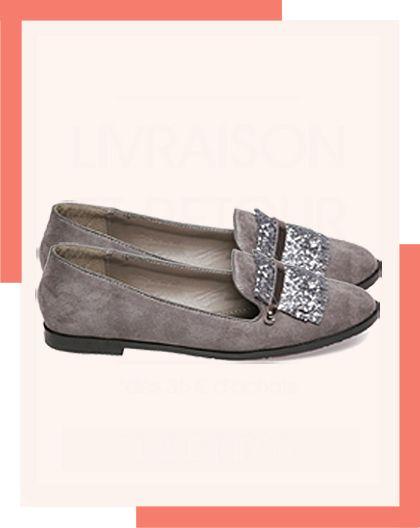 À bas les idées reçues ! Être tendance en soirée même en chaussures plates, c'est possible avec ces adorables slippers pailletées, à mixer avec une petite robe ou un jean moulant ! A bientôt sur lamodeuse.com ♥ #slippers #loafers #mocassins #chaussures #fashion #look #party #soirée