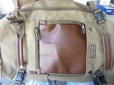 Witzman Men's Vintage Canvas Duffel Shoulder Backpack Travel A2021-21 inch