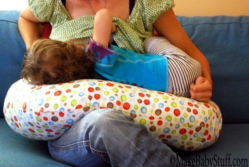 This nursing pillow was so easy to make. It is thicker than a typical nursing pillow and can be made for under $20.