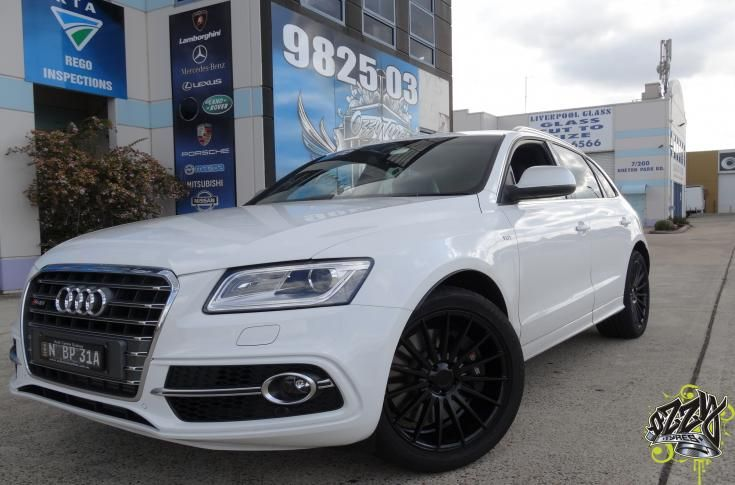 Audi Q3 Rims Amp Mag Wheels Audi Q3 With Stance Sc 7 Satin