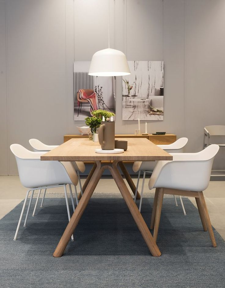 Ambit pendant light in dining room in