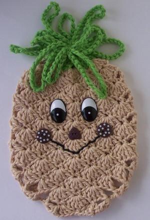 Crochet Pineapple Potholder