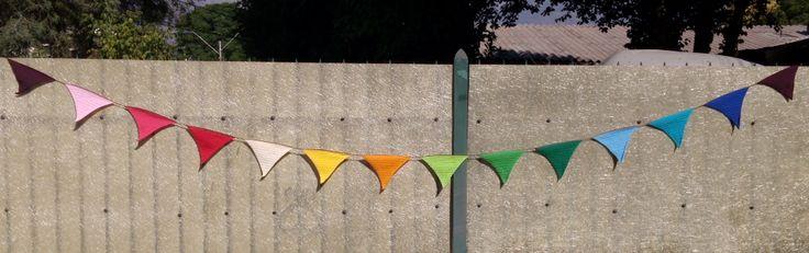 Banderines a crochet hechos x mi!
