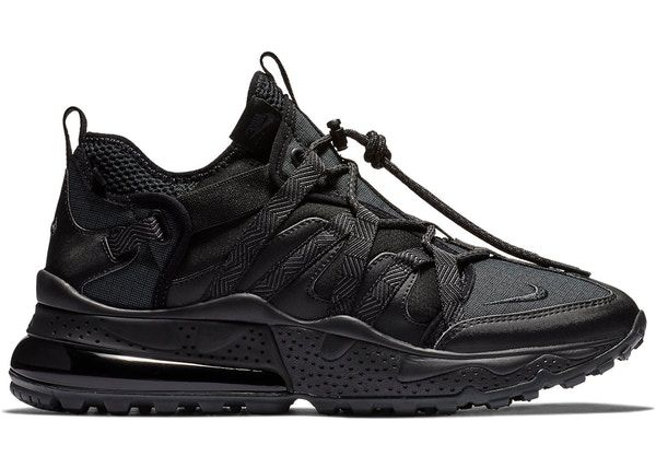 Best Gift Nike Air Max 270 Flyknit Bowfin Black White Discount