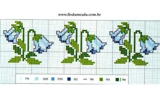 ponto-cruz-flores-punto-de-croce-15-500x400 78 gráficos de flores em ponto cruz para imprimir