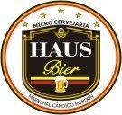 Cerveja Haus Bier, estilo Premium American Lager, produzida por Microcervejaria Haus Bier, Brasil. 4.8% ABV de álcool.