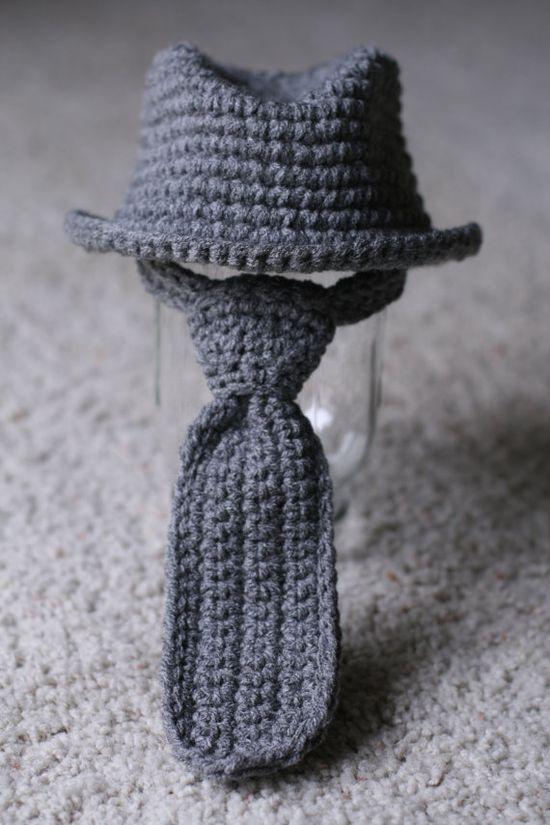 dade928696e Free Crochet Pattern Baby Fedora   Crochet baby fedora hat pattern free