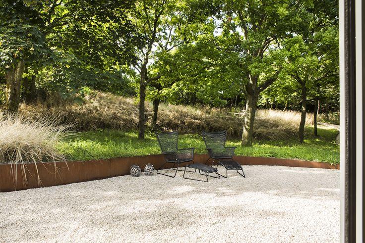 Noordwijk-5.jpg (1280×854) tuin kiezel boordsteen cortenstaal
