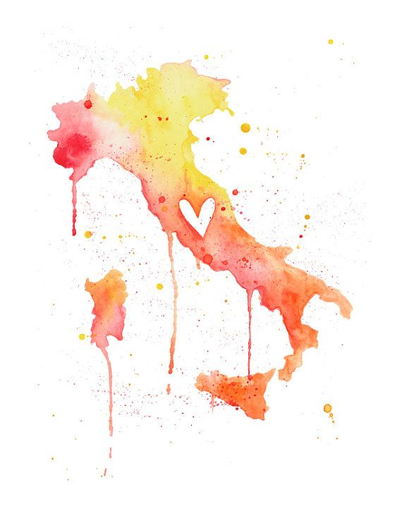 5x7  Italy Love by poppyandpinecone on Etsy, $10.00