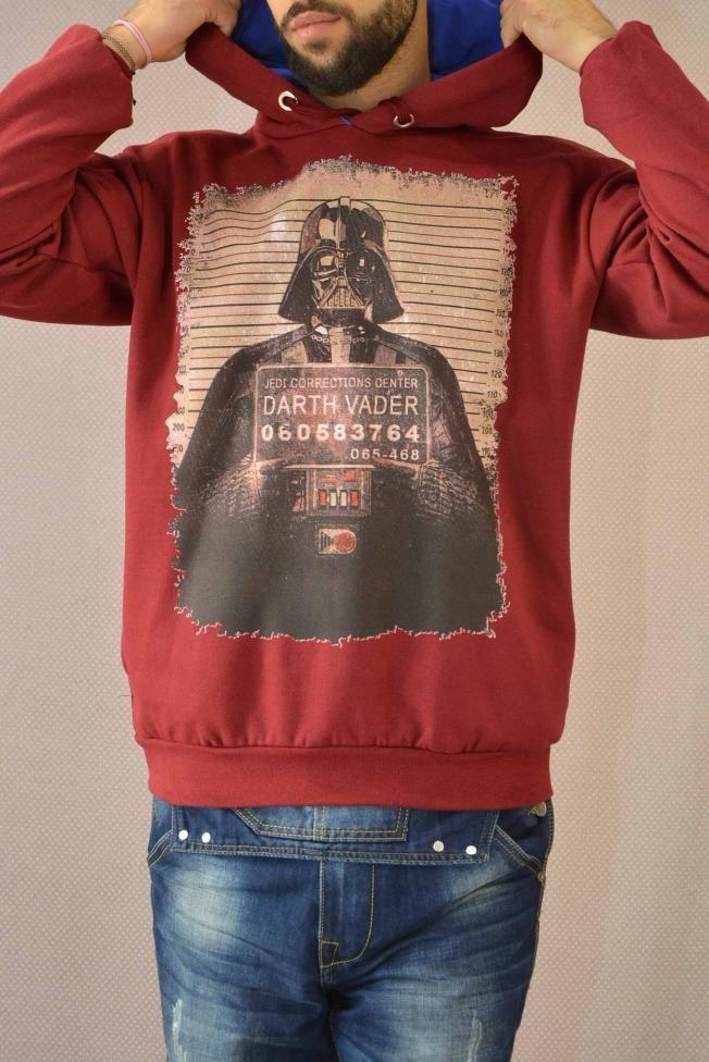 Ανδρικό φούτερ Darth Vader FOUT-1210-bu Φούτερ - Sport & Αθλητικά - Άνδρας