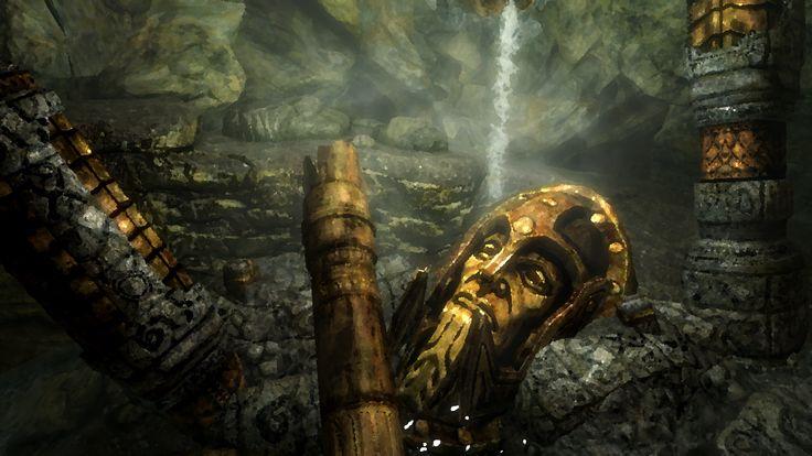 Ruinen untergegangener Kulturen. Der Klassiker, hier aus Skyrim.