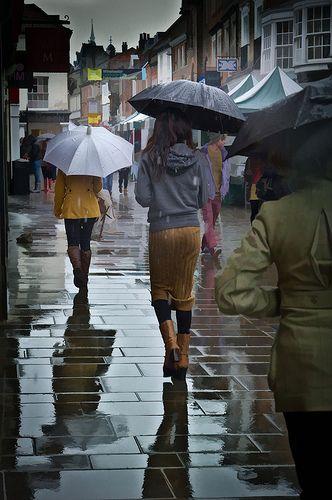 Winchester rainy day