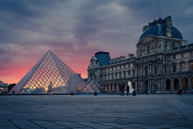 Musse´ de Louvre, Paris