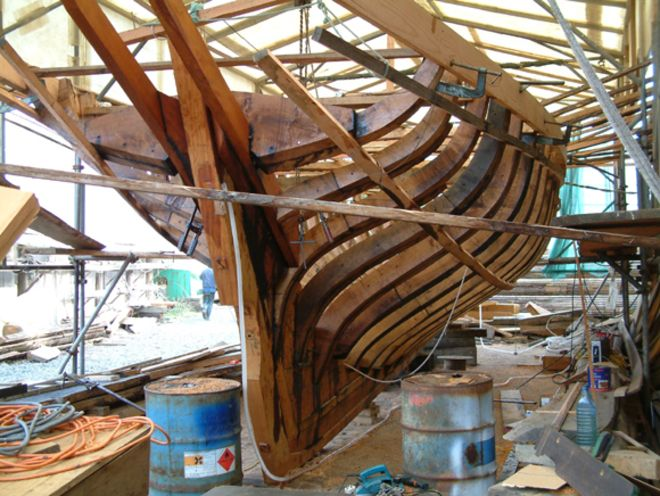 Cornwall for Wooden Boat Building | Luke Powell.  Classic Sailing                                                                                                                                                                                 More