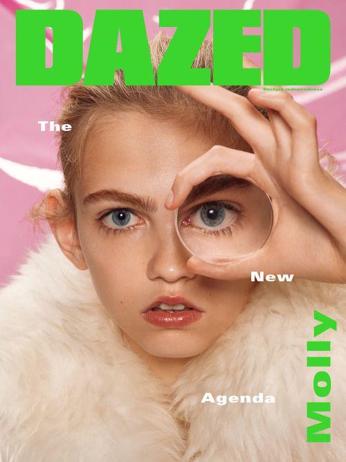 Dazed Magazine Fall 2015 : Lineisy Montero & Molly Bair by Roe Ethridge - the Fashion Spot