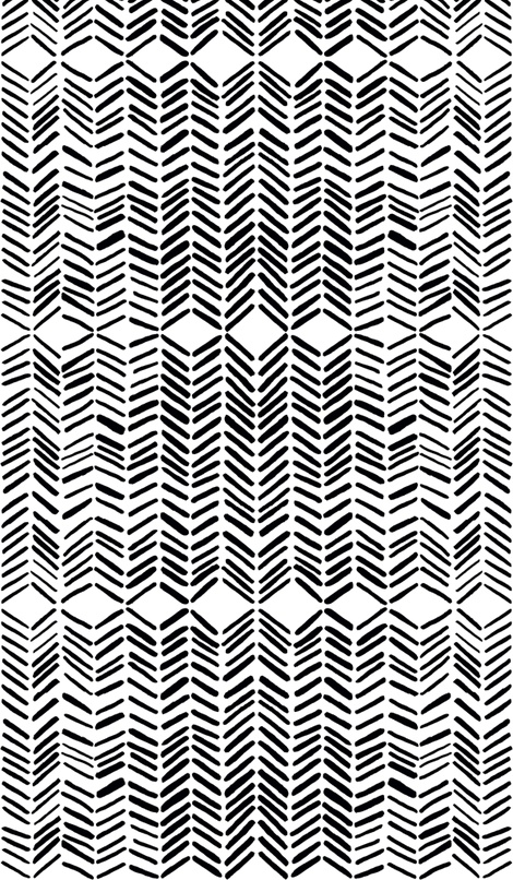 Marie Yates, black and white, black, white, fabric, chic, pattern, textiles.