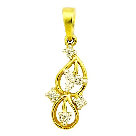 PRODUCT DESCRIPTION  Product Description  This Pendant from Uppergirdle is intricately done in 14k  gold weighting 1.25gms and dazzles with 7 round cut glorious diamonds of FG color and SI quality weighing in total of 0.14cts .The light-weight pendant Gross weights 1.28gms only. All Uppergirdle products come with an igi certificate to assure confidence and integrity. Worn at all times. (Chain not included).   Page :www.uppergirdle.com Like us at; www.facebook.com/diamondpairs Tweet us at…