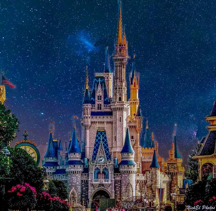 Magical castle with added magic