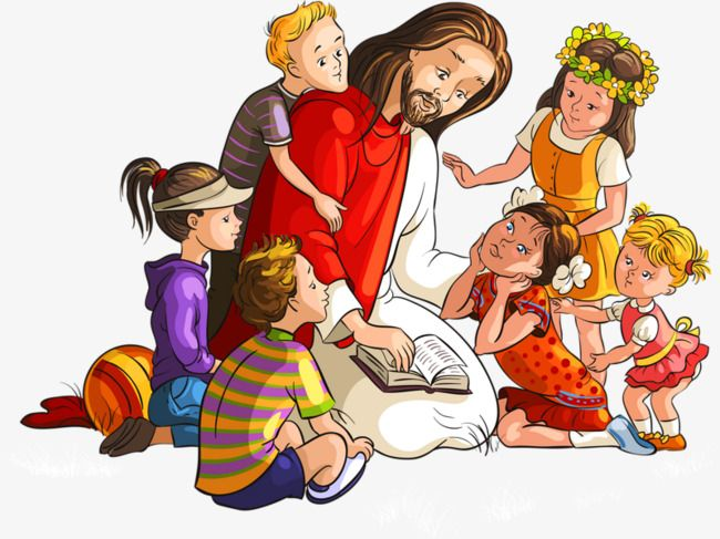 A pregação de Jesus, O Missionário, Jesus, As Crianças Imagem PNG | Jesus  crianças, Catequese crianças, Cartoon cartoon