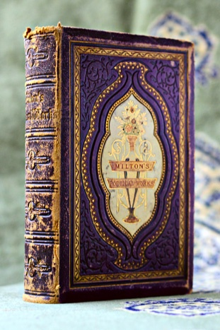 Milton's Poetical Works... John Milton 1897 a beautiful example for a wedding books. get yours here https://www.etsy.com/shop/SacredbyBrandy
