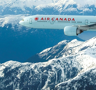 Air Canada: the mode of transportation I've taken basically everywhere :P